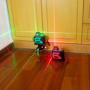 Image 5 - Ketotek Laser Level 12 Lines 3D Self Leveling 360 Horizontal Vertical Cross Super Powerful Red Laser Beam Line Indoor Outdoor