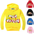 kids sweatshirt winter 2016  pokemon hoodie boys picachu thanksgiving outfit girl pokemon kleding Merry Christmas long sleeves