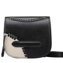 หนัง2016โซ่มินิหมูCowhideขนาดเล็กผู้หญิงของMessengerกระเป๋าหนังแท้ร้อนขายกระเป๋าสตรี