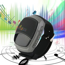Bluetooth Speaker Sport Smart Watch B90 Hands-free Call TF Card Playing FM Radio Self-timer Wireless Speakers Time Display