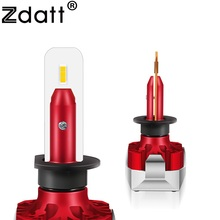 Zdatt H4 LED H7 H11 H8 H1 H9 HB3 9005 9006 HB4 Car Light Headlight Bulb 12000LM 100W 6000K 12V 24V Lamp Auto Automotive Lamp zdatt h4 led bulb car light h7 h8 h9 h11 h1 flip led bulb 9005 9006 headlight 100w 12000lm canbus 12v headlamp automobiles 6000k
