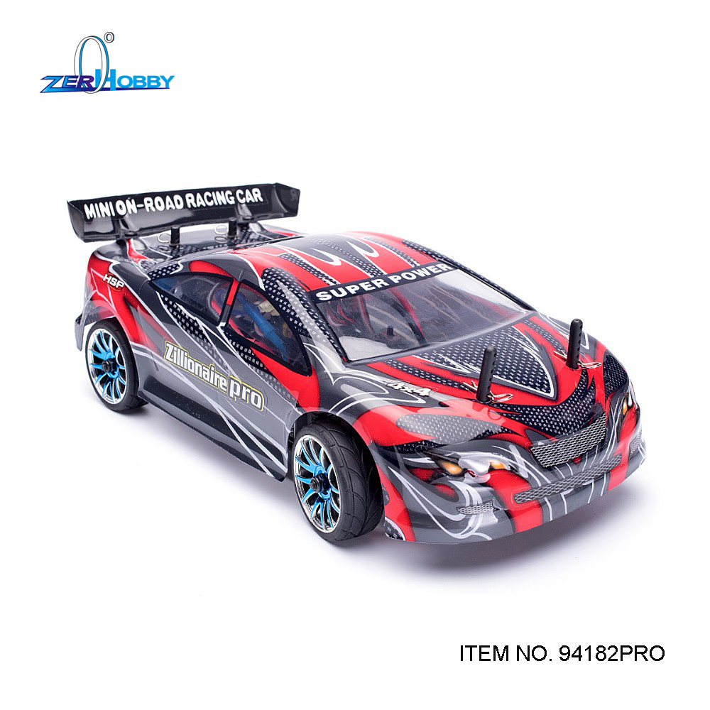 HSP Rc Car 1/16 Electric 4wd Drift Car 94182(PRO) On Road Touring Car Not Include TX RX Servo Battery Similar HIMOTO hsp rc car flyingfish 94123 4wd drifting car 1 10 scale electric power on road remote control car rtr similar himoto redcat