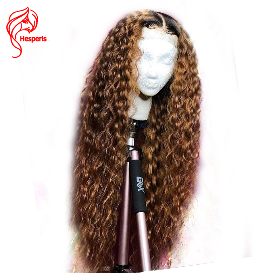 Hesperis Ombre Lace Front Wigs Pre Plucked With baby Hair Brazilian Remy Lace Front Human Hair