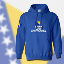 Bosnia and Herzegovina hoodie men sweatshirt suit sporting flag streetwear tracksuit nation footballer BIH Bosnian Herzegovinian