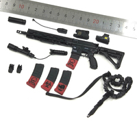 1/6 Scale VH1050 Navy Seal CQB HK416 Set Gun Weapon Models for 12''Action Figures Bodies Accessories