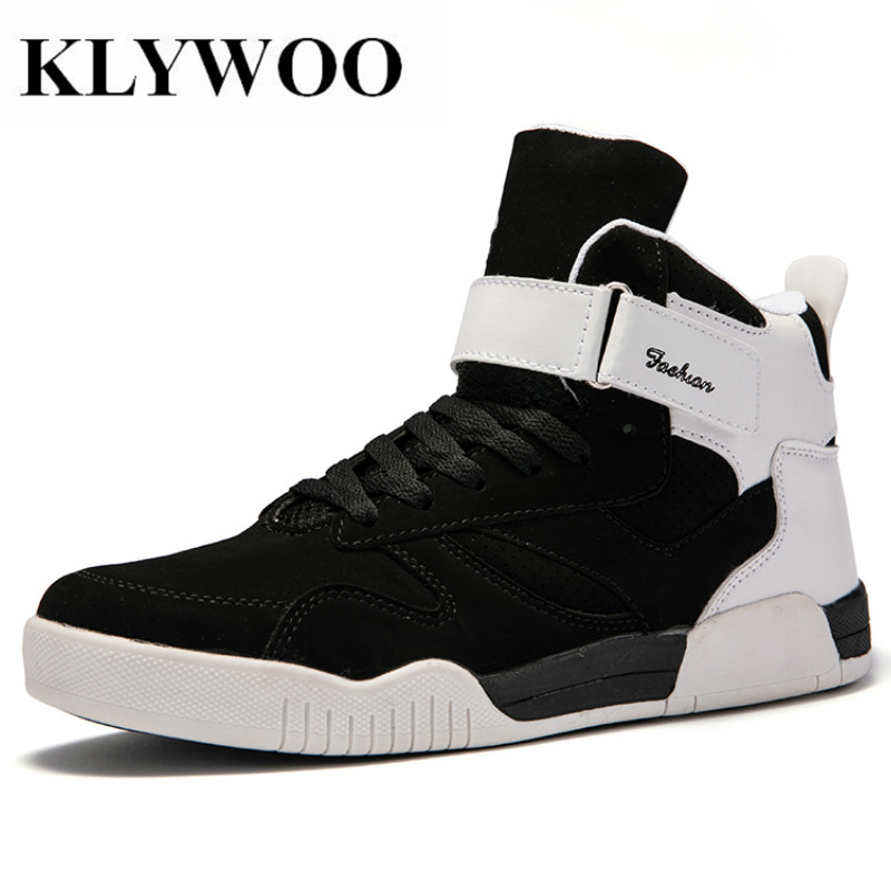 KLYWOO Big Size 39-46 Shoes Men Sneakers Justin Bieber Men Boots SuperStar Hip Hop Shoes Men High Top Shoes Men Casual Shoes aetrue brand men snapback caps women baseball cap bone hats for men casquette hip hop gorras casual adjustable baseball caps