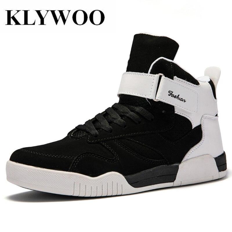 KLYWOO Big Size 39-46 Shoes Men Sneakers Justin Bieber Men Boots SuperStar Hip Hop Shoes Men High Top Shoes Men Casual Shoes ...