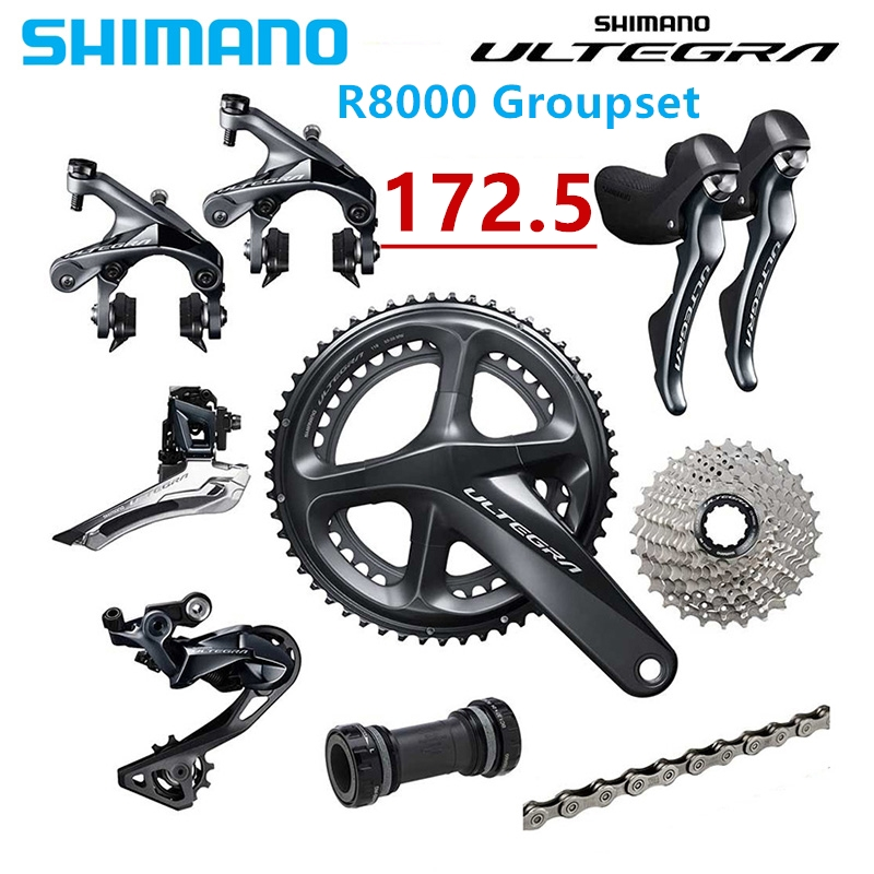 Shimano Ultegra R8000 50 34T 52 36T 53 59T 172 5mm 2 11 22 Speed road