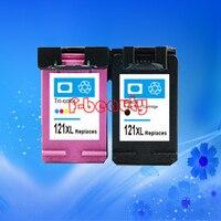 High quality 121 121XL ink cartridge compatible for HP C4610 C4635 C4640 C4650 C4670 C4673 C4680 C4683 C4685 C4688 D2530 D2545