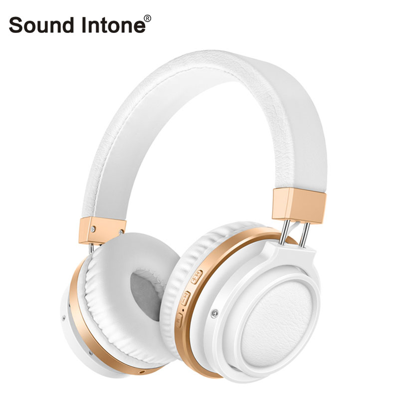 Sound Intone P3 Bluetooth Headphone Wireless with Mic Support TF Card Stereo Bluetooth Headset for iPhone for Xiaomi for Samsung