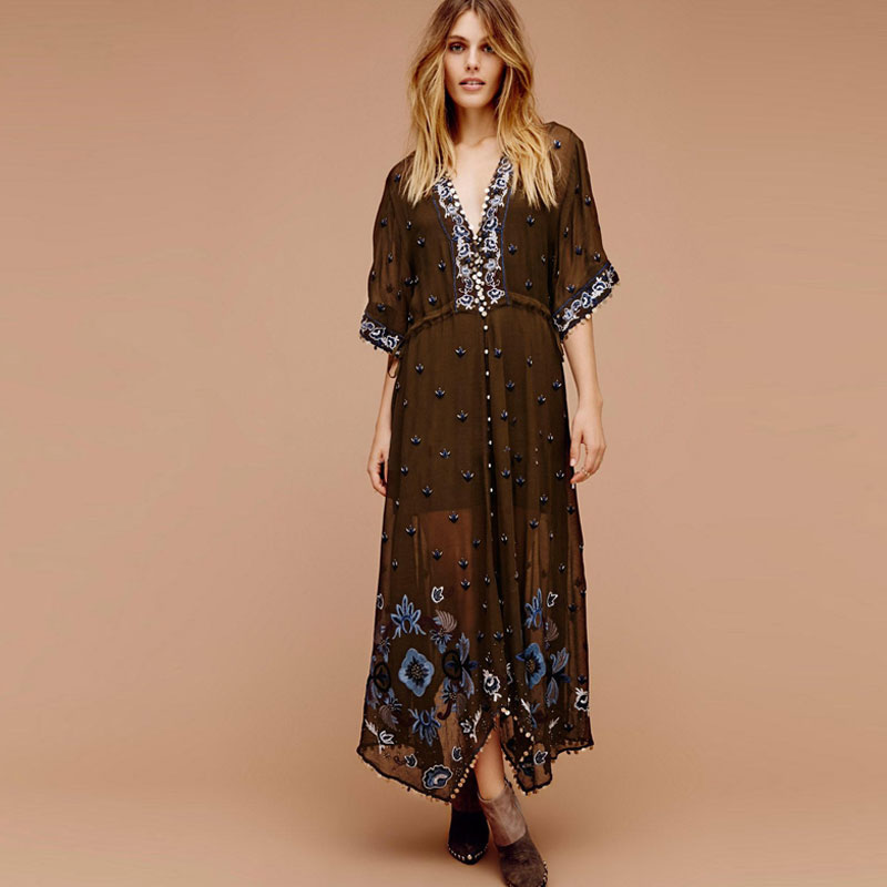 f7721ca67dcf Buy flowing maxi dress and get free shipping on AliExpress.com