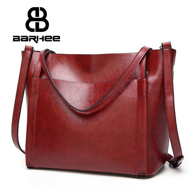BARHEE Mujeres Tote Bag Diseño de Marca de Moda Europea Vintage - Bolsos - foto 1