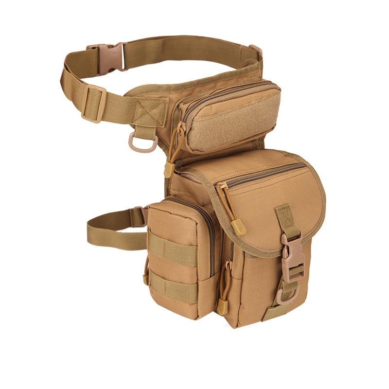 Tactical Backpack Bag Outdoor Sport Camping Waist Leg Bag Military Shoulder