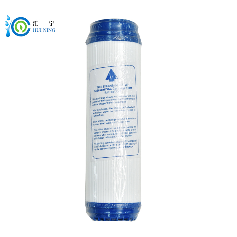 Water purifier filter 10inch granular udf activated carbon coconut shell Adsorption value Filter 1100Cartridge Replacement