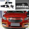 Пара белых дневных ходовых огней DRL приводная лампа для Chevrolet Cruze 2011-2014