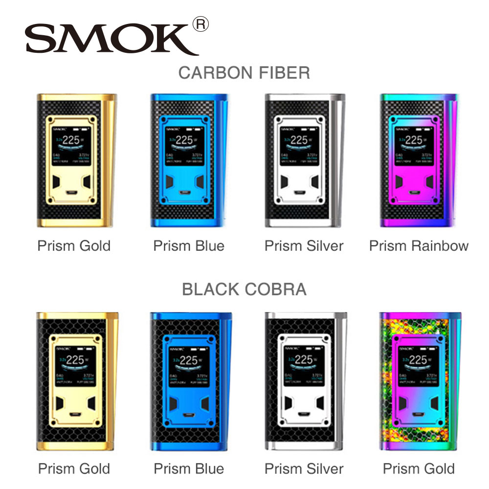 SMOK Majesty 225W TC Box MOD Luxe Edition fit Majesty Luxe Edition Kit with Black Cobra & Carbon Fiber Version MOD No Battery beats solo2 luxe edition черный