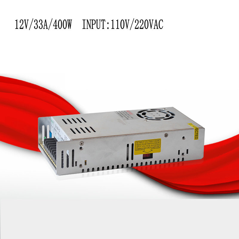 ФОТО S-400-12 12V/33A/400W switching power supply, centralized power supply, power supply security monitoring