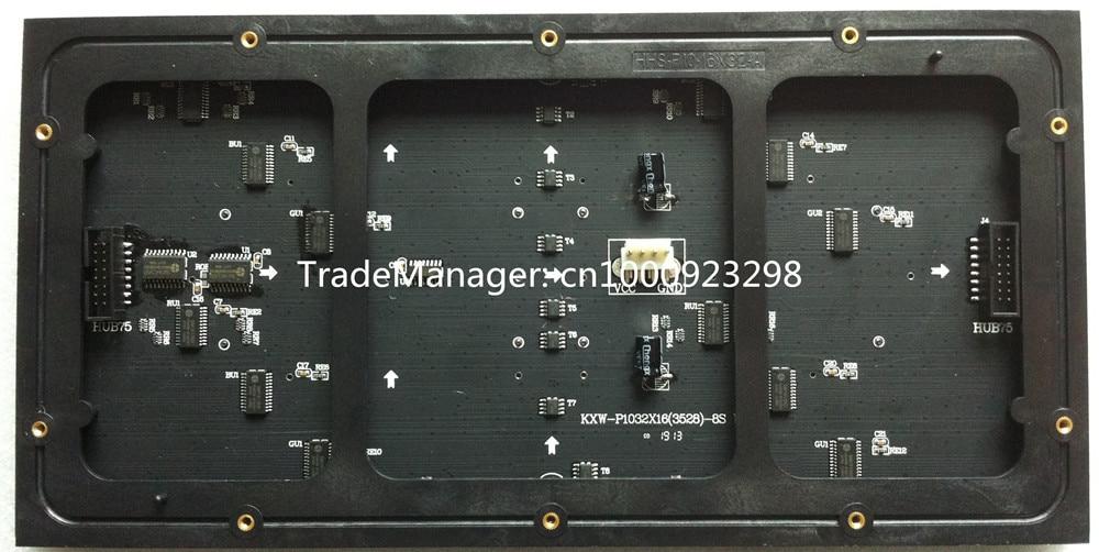 P10 kryty moduł SMD 3w1 kolorowy wyświetlacz panelowy panel 1/8 - Oświetlenie LED - Zdjęcie 2