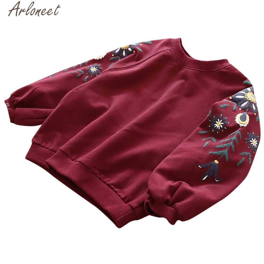 Arloneet Peuter Kids Baby Meisjes Outfits Bloemen Meisjes Hoodies Leuke Baby Meisje Sweatshirts Baby Hoody