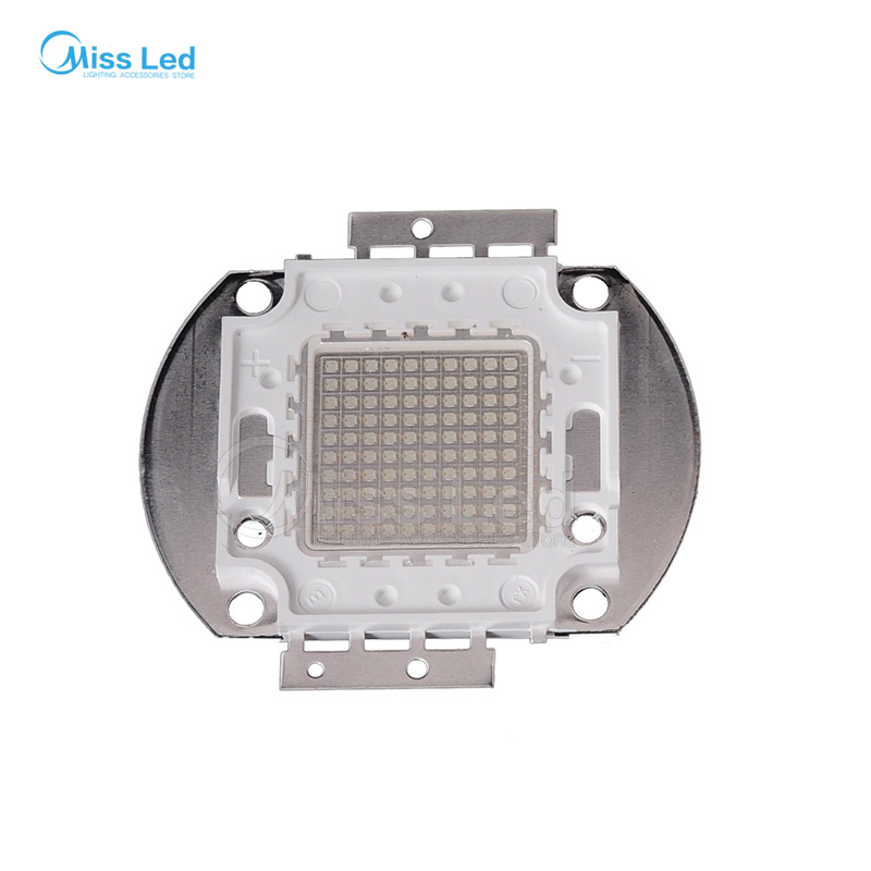 Wholesale 100w UV led chip hight power Purple color 45MIL 395nm-400nm DC133-35V for Plant Growing light босоножки bellamica bellamica be058awszd53