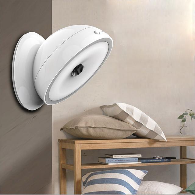 Sensor de movimento De 360 Graus de Rotação de luz sensor de luz Da Noite LEVOU Auto Sensor Infravermelho sensor de luz da noite da lâmpada alimentado por bateria