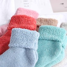 e56611728925c Real Woolen Thick Baby Kids Socks Winter Soft Warm Socks for Children 0-7  Years