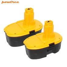 Powtree 3500mAh 18V DC9096 NI-MH Rechargeable Battery for Dewalt DE9039 DE9095 DE9096 DC020 DC212 DC212B L10