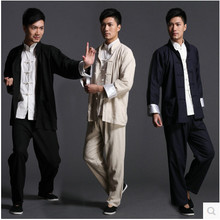 Chinese traditional Tang suits linen Wing