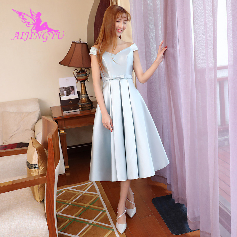 AIJINGYU 2018 sexy   bridesmaid     dress   wedding guest formal   dresses