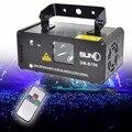 Дистанционного DMX512 150 МВт Синий Лазерный Сканер Диско DJ Луча Сценического Освещения Эффект Синий Лазерный Проектор освещение Световое шоу