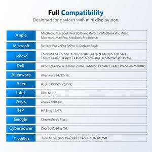 Image 4 - منفذ عرض صغير من Ugreen Thunderbolt إلى HDMI/VGA/DVI كابل محول محول لجهاز Apple MacBook Air Pro 4K منفذ عرض صغير إلى VGA