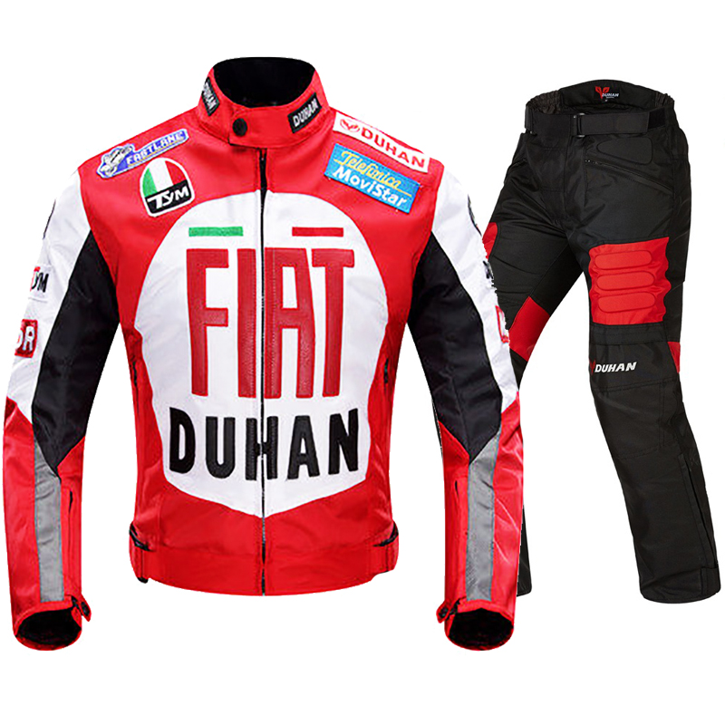 Motorcycle Racing Jacket Autobike DUhan Moto protection Jackets Urban Off Road MTB ATV Jersey Motocross Non