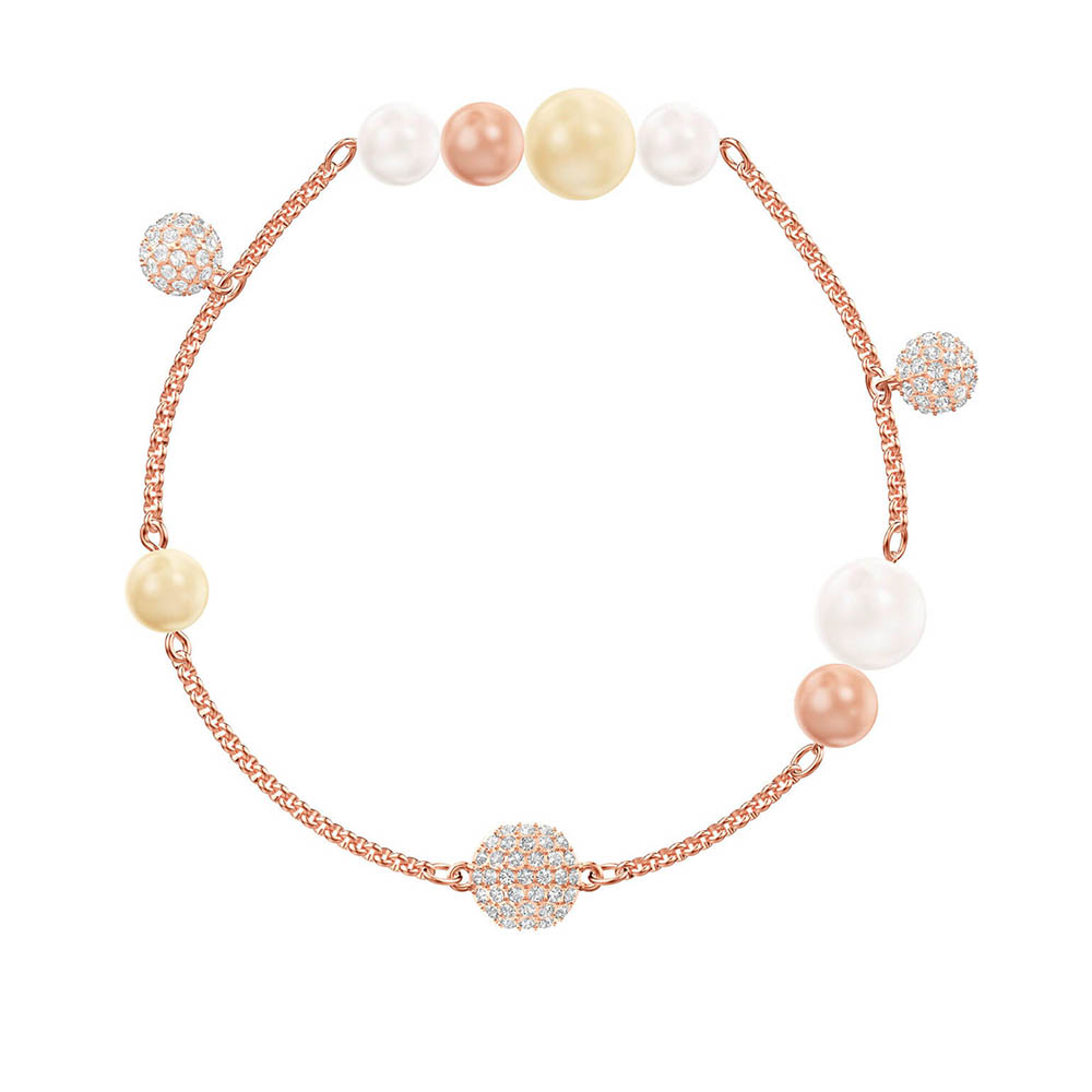 SWA RO 2019 Original New REMIX COLLECTION PEARL STRAND Hidden Magnetic Buckle Shiny Crystal Female Bracelet Romantic Luxury GiftSWA RO 2019 Original New REMIX COLLECTION PEARL STRAND Hidden Magnetic Buckle Shiny Crystal Female Bracelet Romantic Luxury Gift