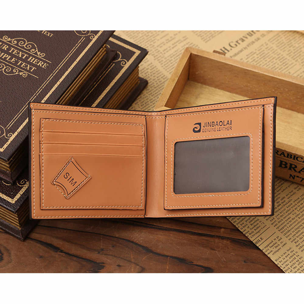 Кошелек небольшой кожаный бумажник Мужская модная новая сумка мужские s кошельки Держатель для карт портфель Cuzdan Portomonee сумка для денег Walet Vallet