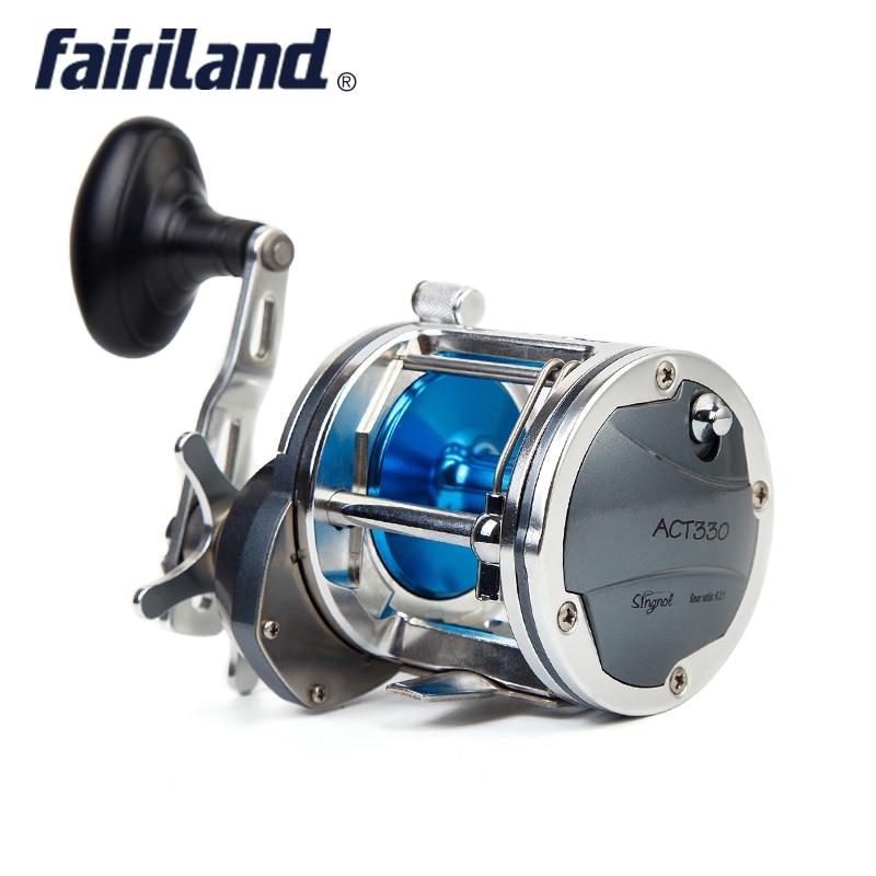 Boat Fishing Reel 6 2 1 4BB Full Metal reel fishing 25kg Drag Power casting Drum
