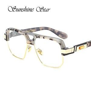 PAWXFB Luxury Square Women Men glasses Vintage Oculos 50735959e9