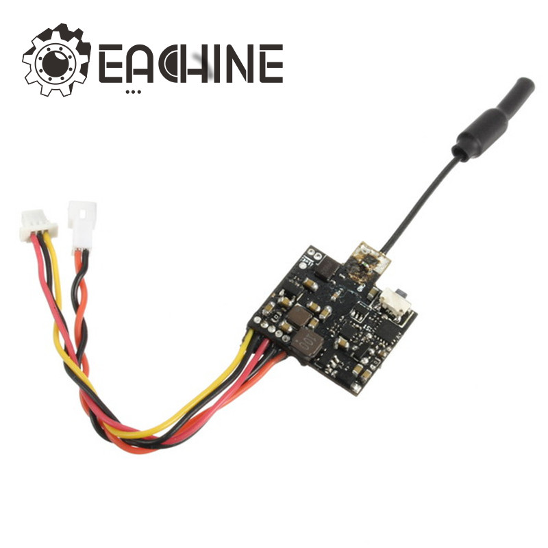 Eachine VTX03 Super Mini 5.8G 72CH 0/25 mW/50 mw/200 mW Commutabile FPV Trasmettitore