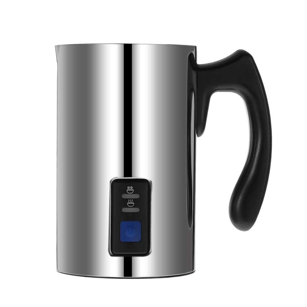 Homgeek Stainless Steel Coffee Machine 220V Electric Milk Frother Foamer Milk Warmer Foam Latte Cappuccino Bubble Coffee Maker-in Coffee Makers from Home Appliances    2