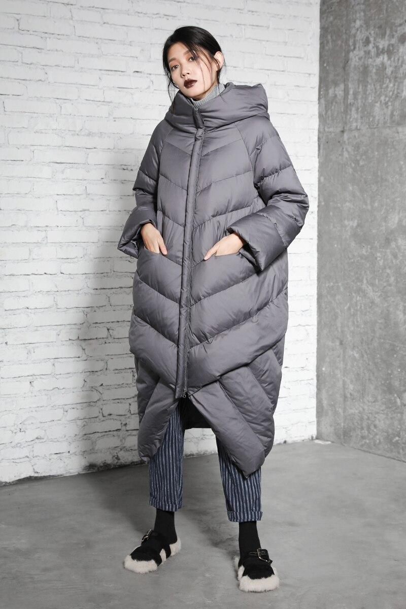 D'hiver Longue Capuche Femme Veste Femmes Manteau Noir Parka gris Green Couture bourgogne Hiver Nouvelle Chaud army À Lâche 2018 Bagomoto Ctq8ff