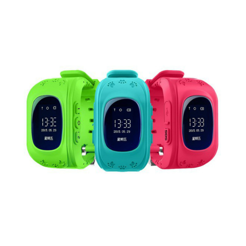 Smart Phone Watch Kid Wristwatch Children Anti Lost GPS Tracker Watch For Kids SOS GSM Mobile