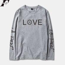 LUCKYFRIDAYF 2018 Lil Peep R.I.P. Long Sleeve T Shirt Men/Women Cotton Spring Fashion Casual Streetwear Hip Hop Long T-shirt Top
