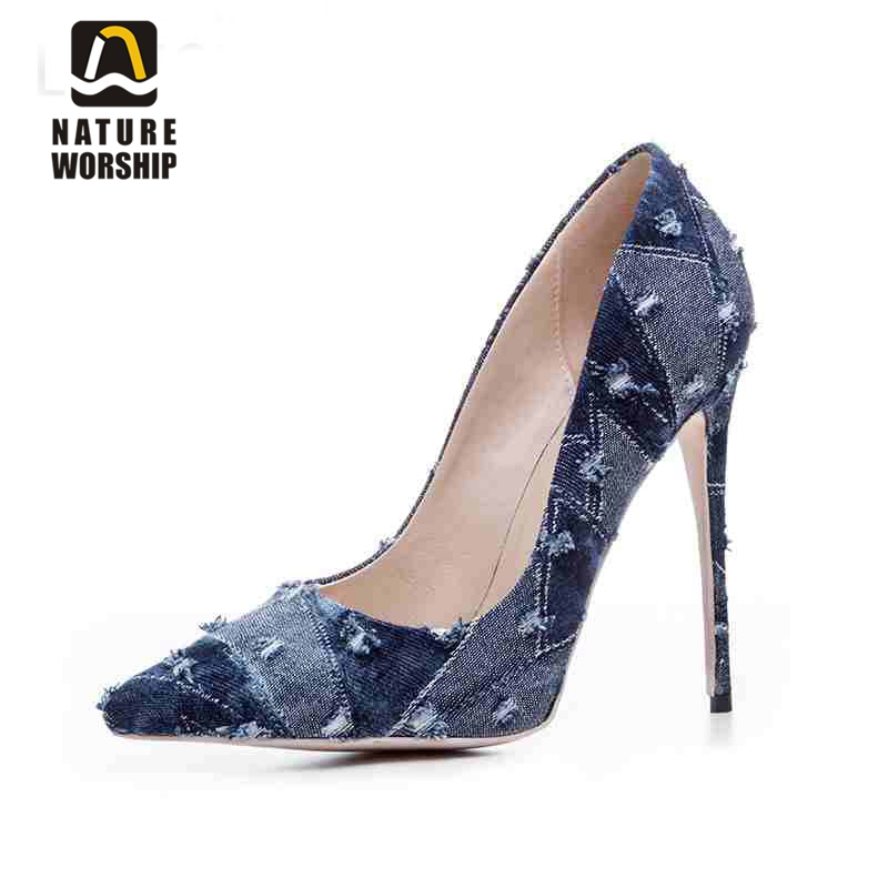 Super wysokie szpilki buty kobiety pompy Pointed Toe gladiator pompy buty damskie buty biurowe kariery buty robocze płytkie pompy sandały w Buty damskie na słupku od Buty na AliExpress - 11.11_Double 11Singles' Day 1