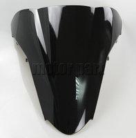 Motorcycle Black ABS Plastics WindScreen Windshield Deflectors For 2002 2009 Honda VFR800 VFR 800 02 03