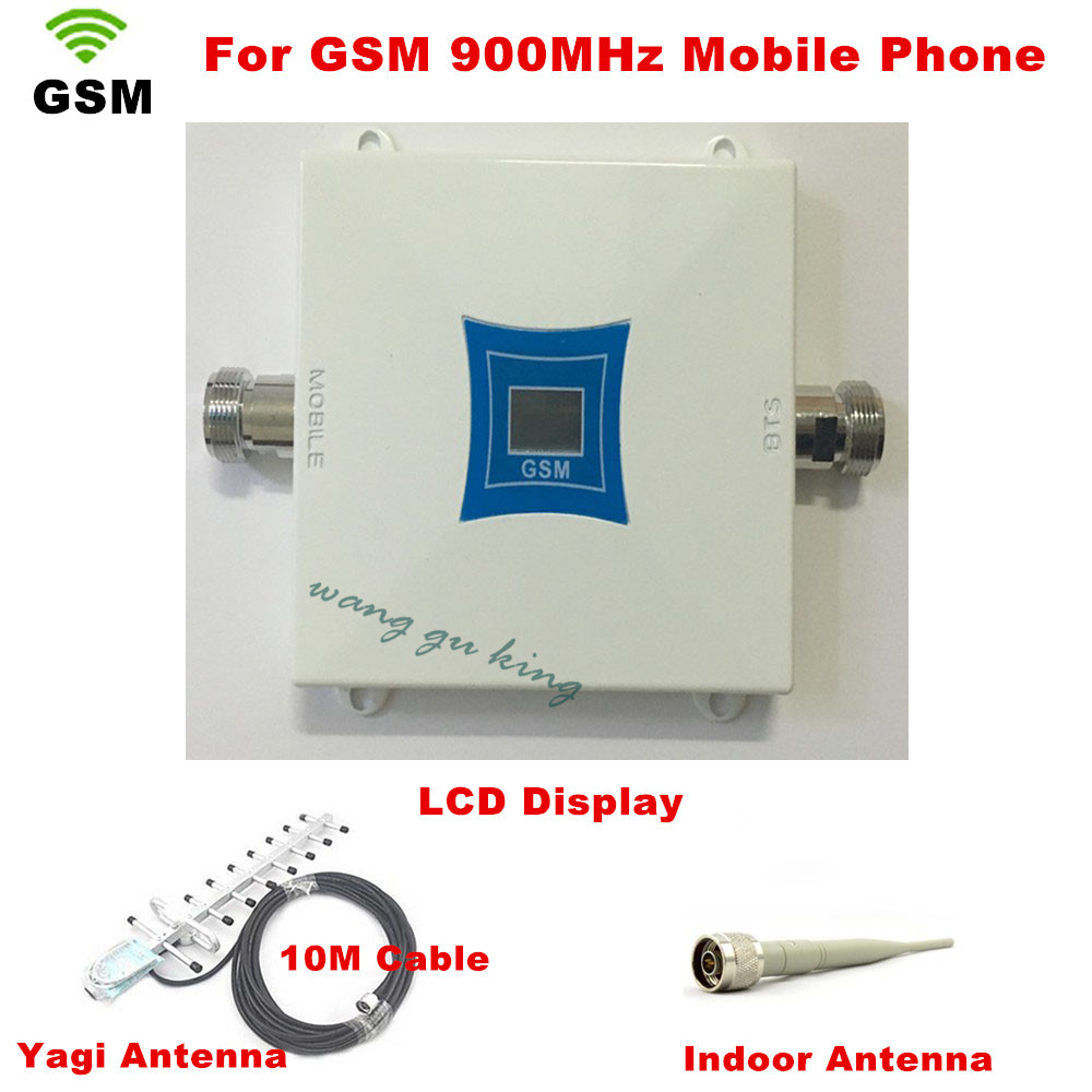 LCD Display !!! GSM 900Mhz Mobile Phone Signal Booster , GSM Signal Repeater , Cell Phone Amplifier + Yagi Antenna with CableLCD Display !!! GSM 900Mhz Mobile Phone Signal Booster , GSM Signal Repeater , Cell Phone Amplifier + Yagi Antenna with Cable