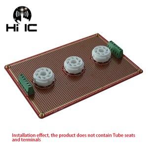 Image 3 - Prototype universel PCB pour 8 broches/9 broches Tube amplificateur préampli casque Valve Double face carte PCB