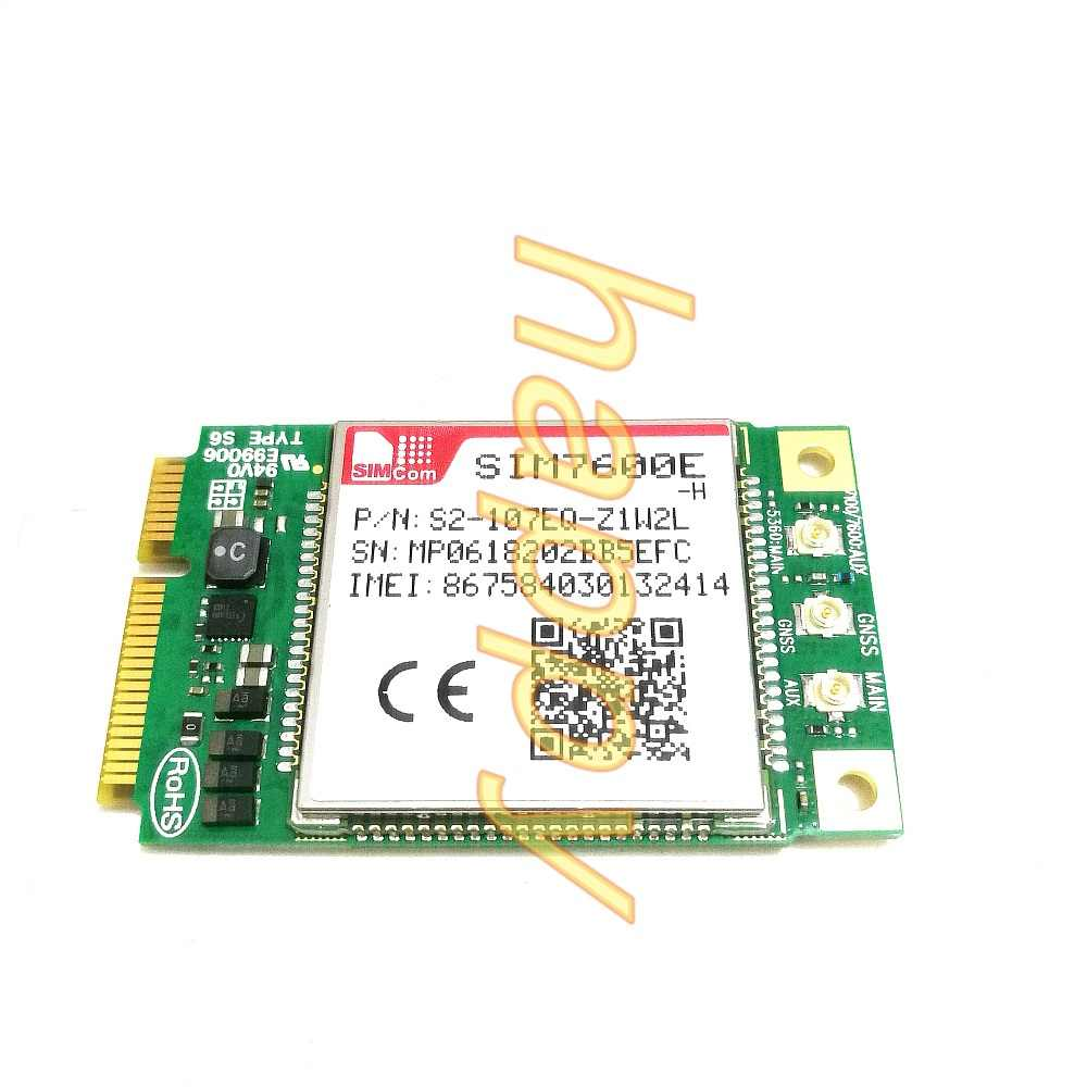 SIM7600E SIM7600E-H LTE module supports GPS function