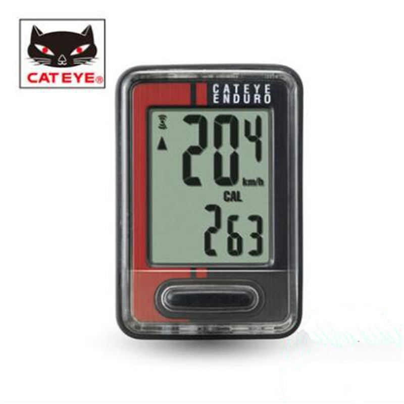 CATEYE CC-ED400 Computer bicycle speedometer wired stopwatch mileage bike accessories ...