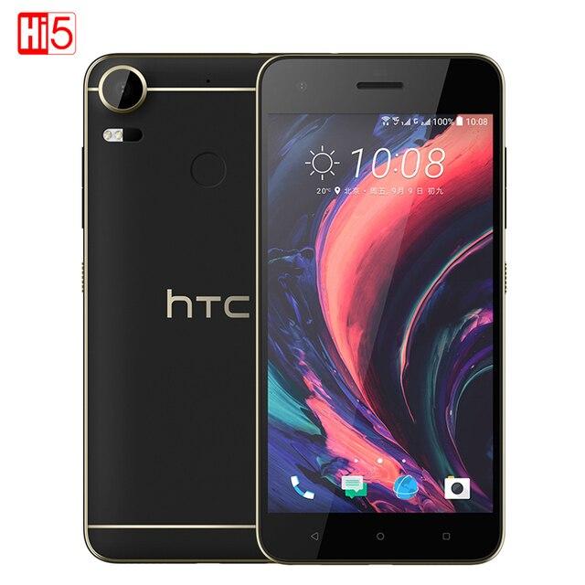 """Разблокирована HTC Desire 10 Pro Dual Sim 4 ГБ ОЗУ 64 ГБ ROM Восьмиядерный 20MP отпечатков пальцев 5.5 """"ячейки телефон 4 г LTE 3000 мАч мобильного телефона"""