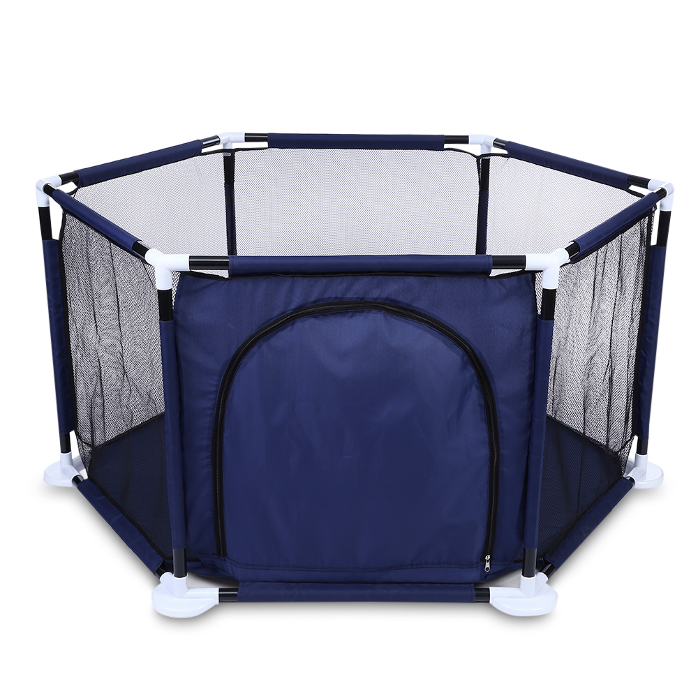 2018 Tent For Kids Raised Net Yarn Hexagonal Ocean Ball Pool Play Fence Playyard Toys Indoor Outdoor Baby Playpen Children Tents