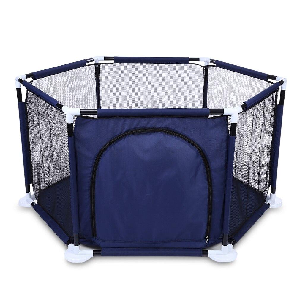 2018 Tente Pour Enfants Ont Levé Net Fil Hexagonale Océan Piscine À Balles Jouer Clôture Parc À Bébé Jouets Bébé En Plein Air Intérieur Parc Enfants tentes